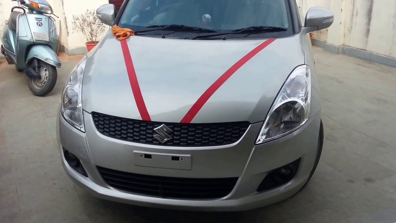 My All new Maruti Suzuki Swift vxi with camera YouTube
