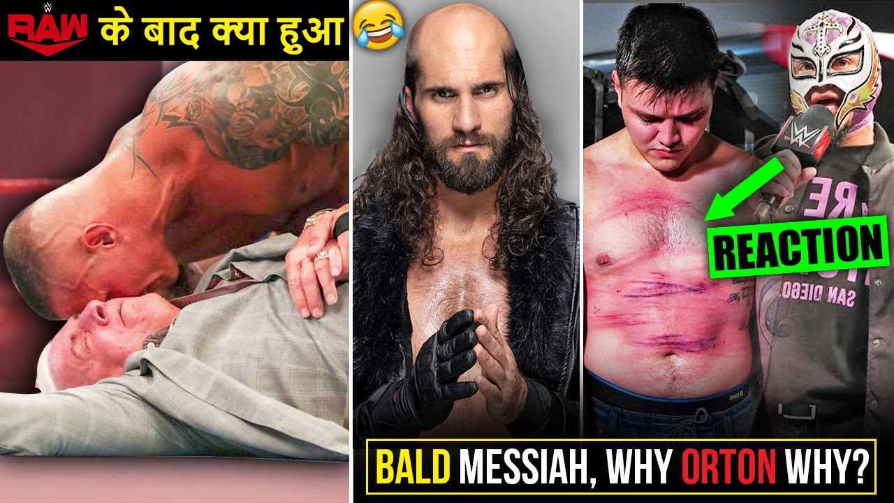 Why Orton Why? Ganja Rollins👨🦲 Raw Off-Air, Mysterio Reaction Dominik, BigE IC Title Raw Highlights
