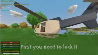 How To: Fly A Helicopter In Unturned|Control
