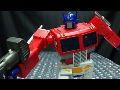 Transform Element OP LEADER (Optimus Prime): EmGo's Transformers Reviews N' Stuff