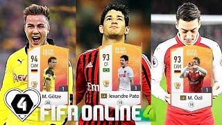 FIFA ONLINE 4: TEST DÀN GR Vs M. Gotze GR - A. Pato GR - M. Ozil GR - Sturridge GR - ShopTayCam.com