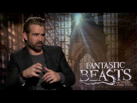 Fantastic Beasts and Where To Find Them Interview - Colin Farrell