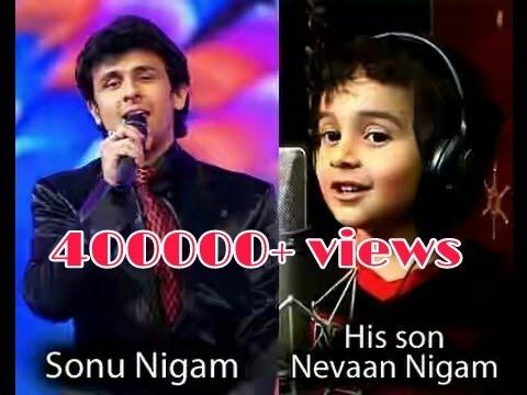 Like Father ,like Son:Sonu Nigam & Nevaan Nigam||Nevaan Nigam & Sonu Nigam Live Singing In Moscow