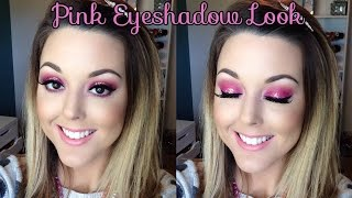 Pink Glitter Eyeshadow Look Thumbnail