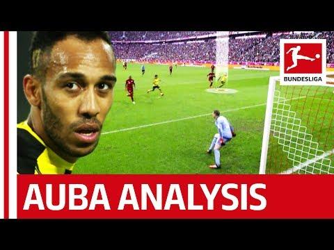 Pierre-Emerick Aubameyang Analysed - How He Scores His Goals