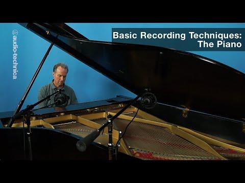Basic Recording Techniques: The Piano