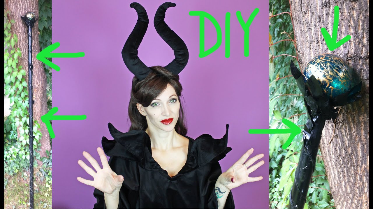 Diy Maleficent Staff Halloween 2015 4