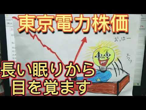 東電 株価