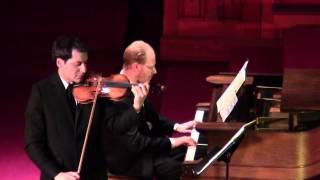 Mozart  - Sonata for Piano and Violin in G Major, K  301 - I. (Duo Giocoso, 2013)