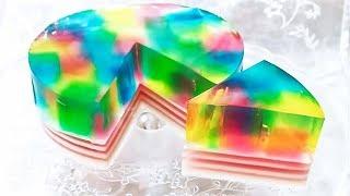 未来のミライ 風💎 ゼリーケーキ✨ 作り方💎 How to Make Jelly Cake✨