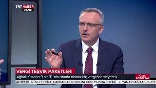 TRT Haber Özel Röportaj 08.06.2018 -  Maliye Bakanı Naci Ağbal
