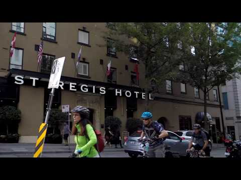 Walk In Downtown Vancouver Canada - SEYMOUR Street - Walking Tour Of City