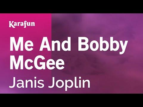 Karaoke Me And Bobby McGee - Janis Joplin *
