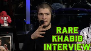 Rare Khabib Nurmagomedov Interview with Demetrious Johnson, Amanda Nunes and Fabrício Werdum