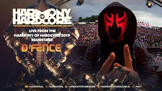Harmony of Hardcore 2019 - D-Fence LIVE from the mainstage