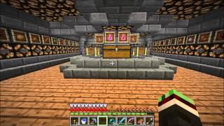 Minecraft - Underground survival base tour