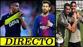 Barcelona Vs Boca Juniors - Dupla Cristiano Dybala - Guardiola Le Responde A Chiqui Tapia - DIRECTO