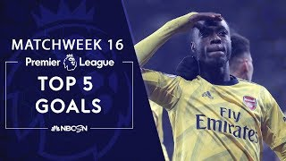 Premier League Matchweek 16 Goals of the week  NBC Sports