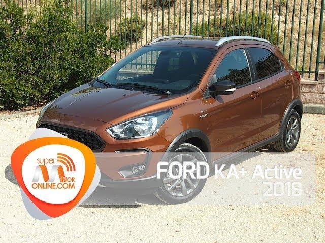 Ford KA+ Active 2018 / Al volante / Prueba dinámica / Review / Supermotoronline