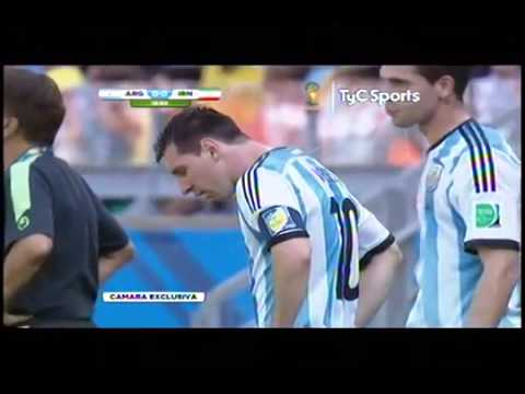 A new complication Messi vomited again to Iran