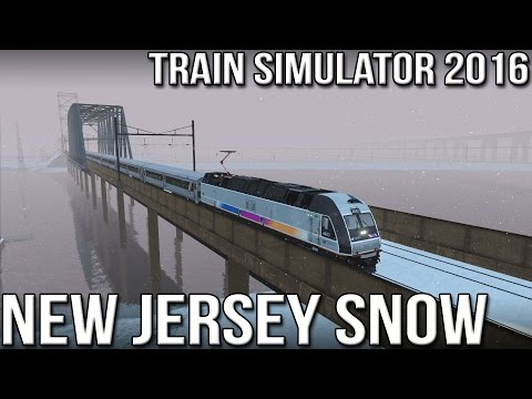 New Jersey Snow - ALP-45 DP - Train Simulator 2016