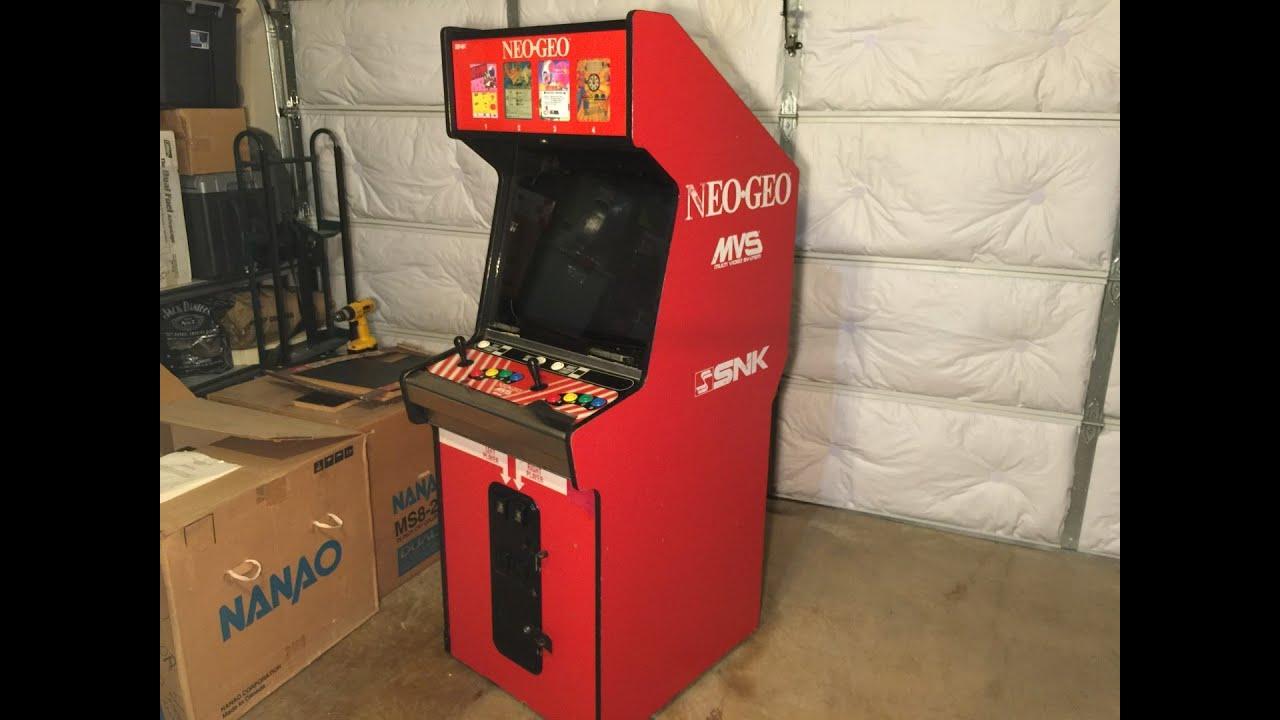 NEO-GEO 4 Slot MVS - Craigslist Pickup & Bonus SCORE! The Arcade ...