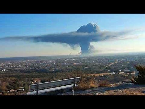 5 ОГРОМНЫХ неядерных взрывов снятых на камеру