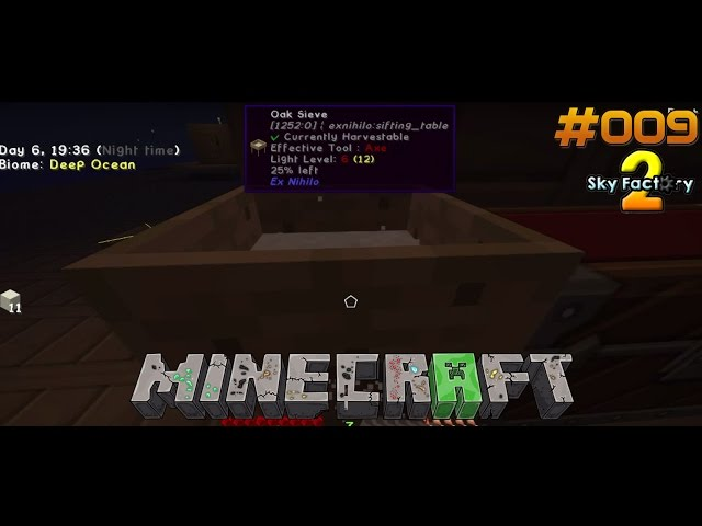 Let's Play Minecraft Sky-Factory 2 | Möge das Sieben beginnen | Folge #009