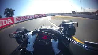 VISOR CAM: Josef Newgarden at Sonoma Raceway