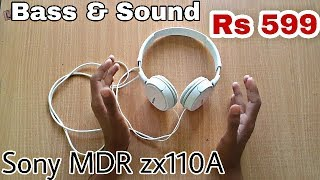 Sony MDR zx110a review after 1 month use | Hindi