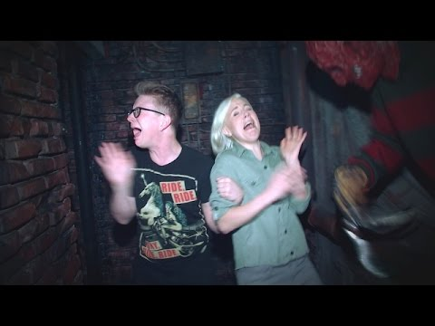 Thumbnail: 'The Tyler Oakley Show': A Haunted House with Hannah Hart
