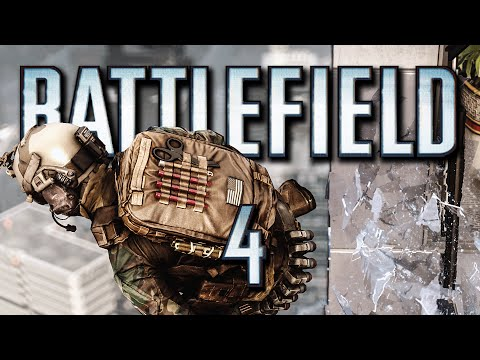 Battlefield 4 Funny Moments - King of the Battlefield, Bopping Roof Snipers, OP Flashbang!