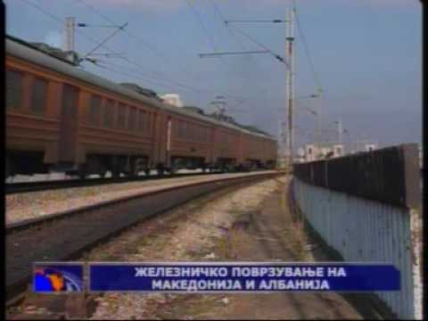 NEWS - Railway links with Albania Corridor 8