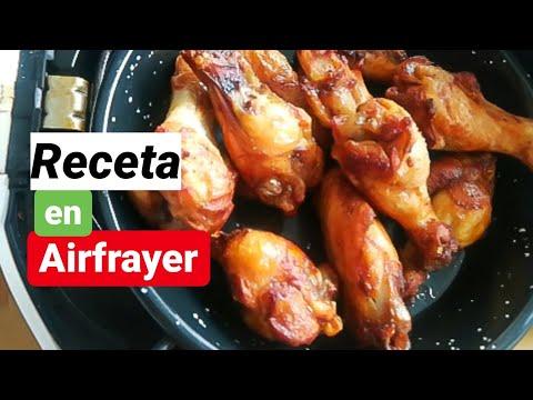 Recetas fáciles en AIRFRAYER ⚡ Alitas de pollo jugosas y deliciosas⚡
