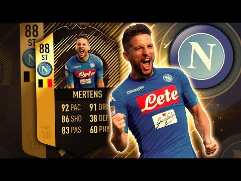 SIF MERTENS 88! SHOULD NOT BE ALLOWED! FIFA 18 ULTIMATE TEAM