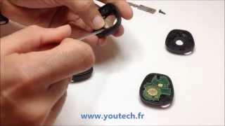 Réparation cle plip telecommande Renault Laguna Megane Espace Scenic Safrane