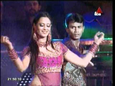 Praweena on stage