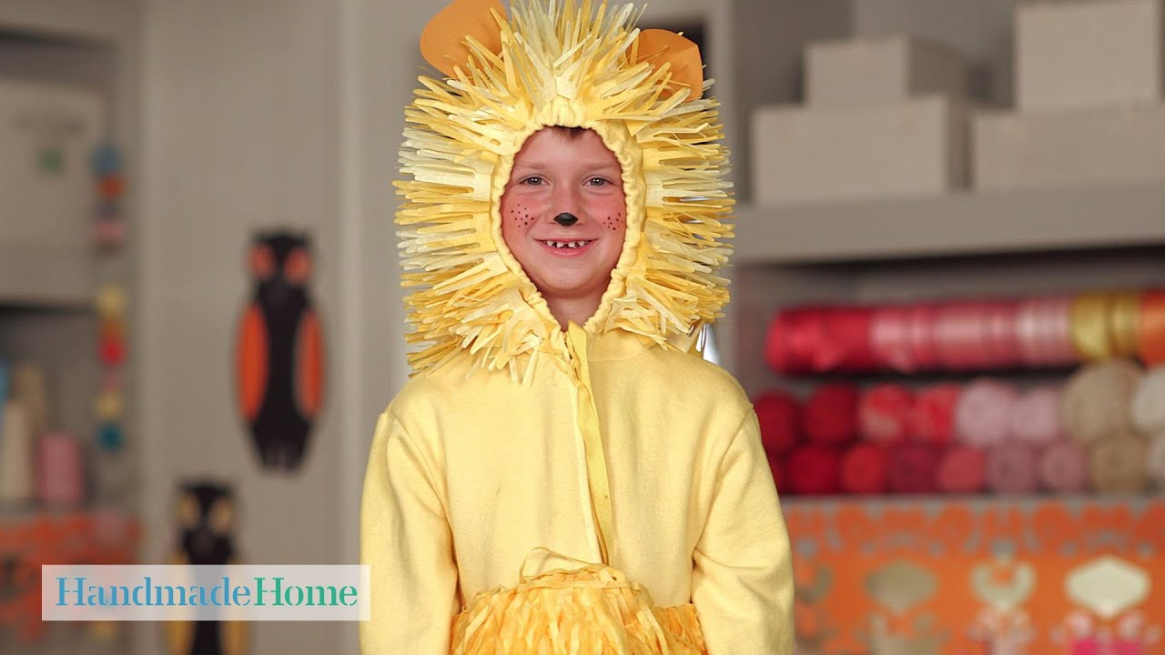 Kids Lion Costume Handmade Home Martha Stewart