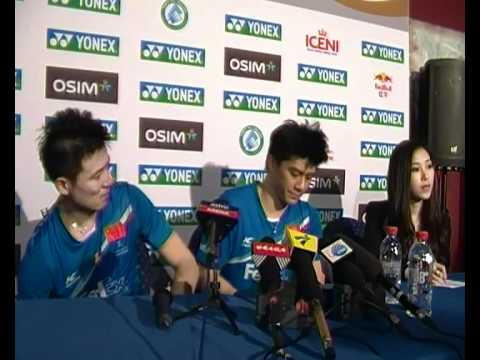 2012 Yonex All-England Open Finals Post-Match Press Conference - Cai Yun/Fu Haifeng