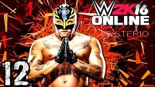 WWE 2K16 Online Türkçe | Günlerden REY MYSTERIO | Ümidi vs World | 12.Bölüm | Ps 4