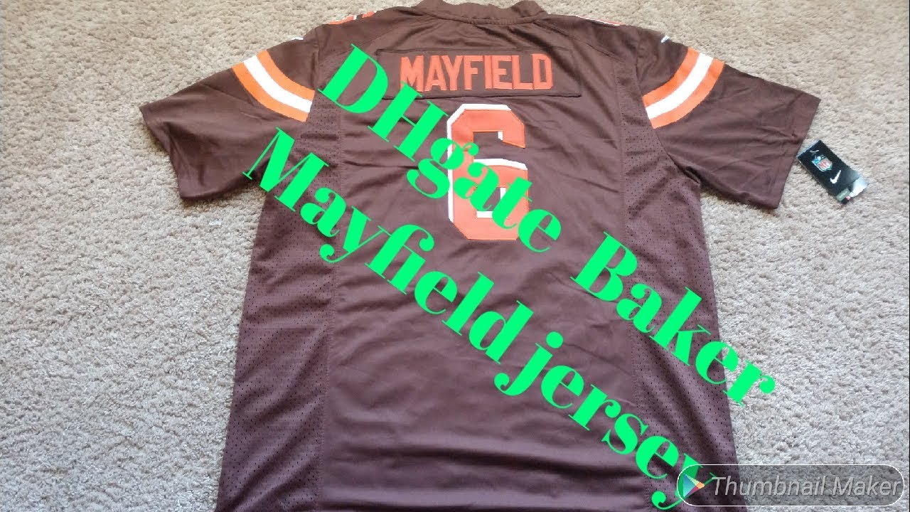 the best attitude adb07 e2130 DHgate Baker Mayfield Jersey