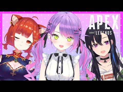 【APEX】はじめましてのメンバーでランクする!【常闇トワ/ホロライブ】
