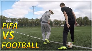 FIFA VS FOOTBALL With Séan Garnier!