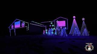 SnoMutt Lights 2018 Christmas Light Show