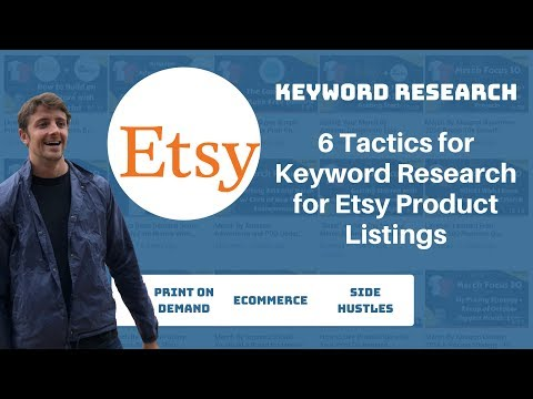 Etsy Keyword Research 6 Tactics for Etsy SEO for Titles, Tags And Descriptions