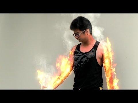 super power  video (after effect)