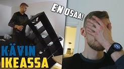 iso mies koittaa koota Ikean hyllyä **GONE WRONG**