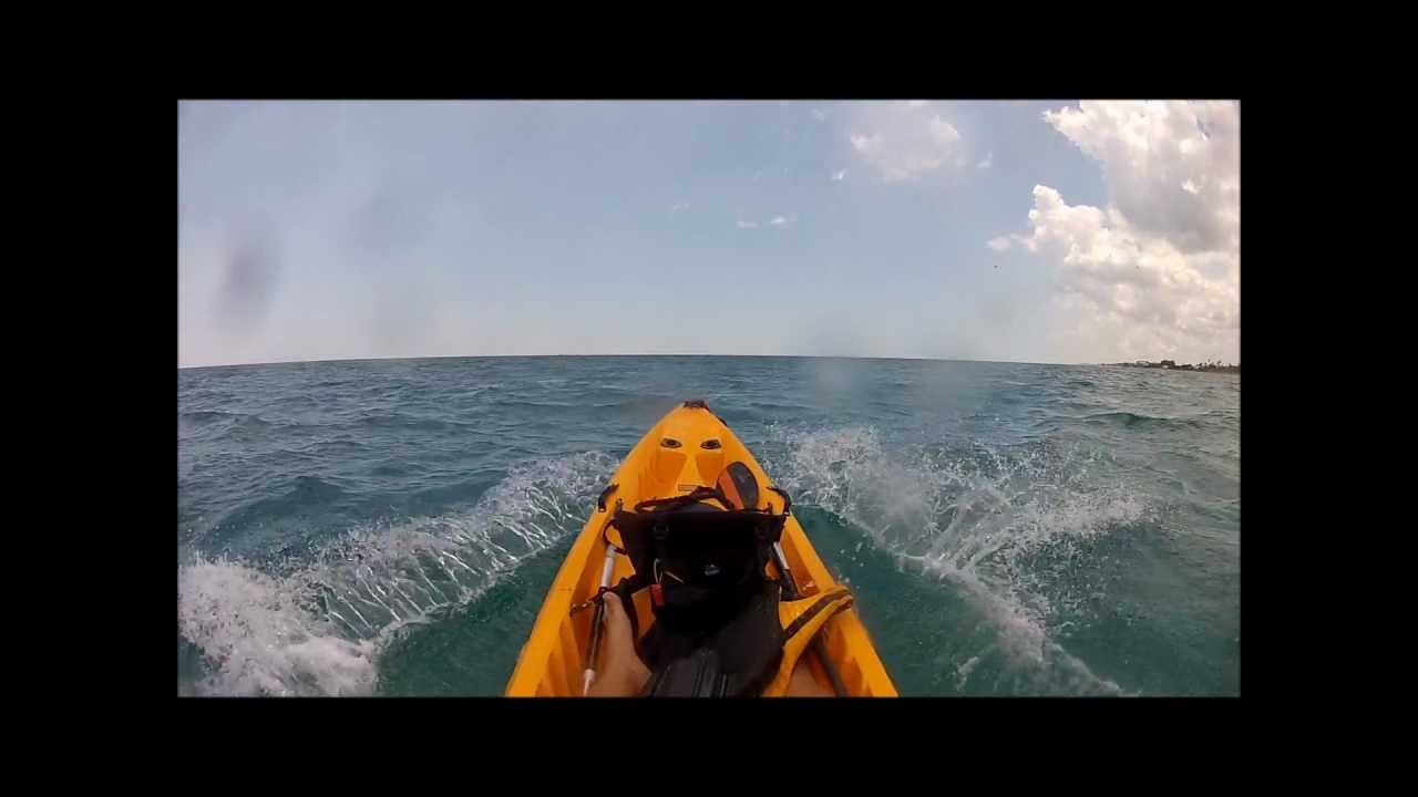 COBRA TRIPLE KAYAK WITH OUTBOARD MOTOR