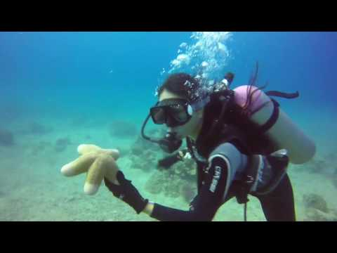 scuba diving Boracay Philippines  -  Gopro hero 4 silver