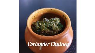Coriander Chutney   Side dish recipe   kannada recipe.